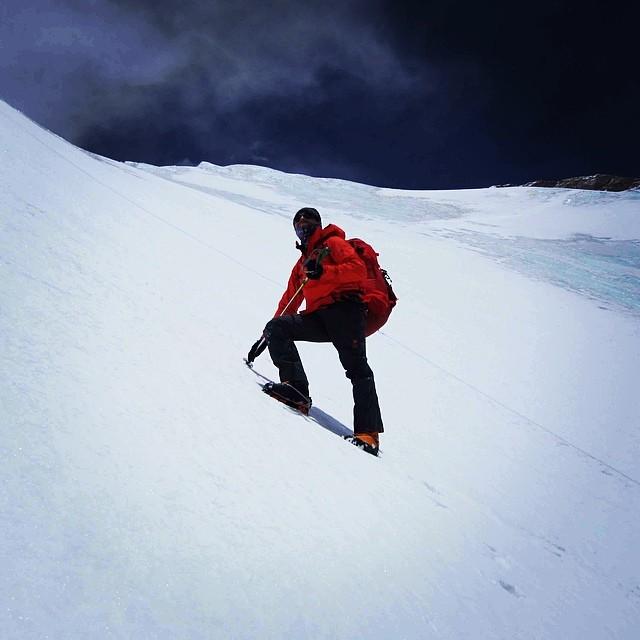 Steep slopes on makalu