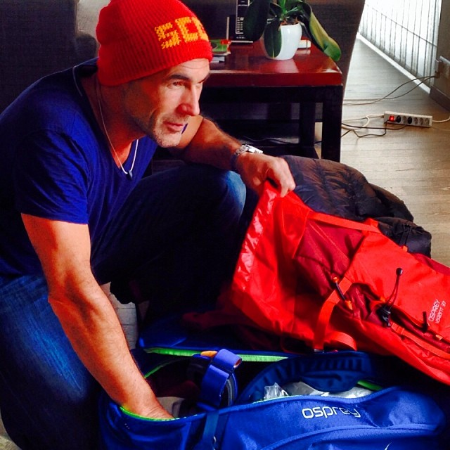 Mike Horn Packing