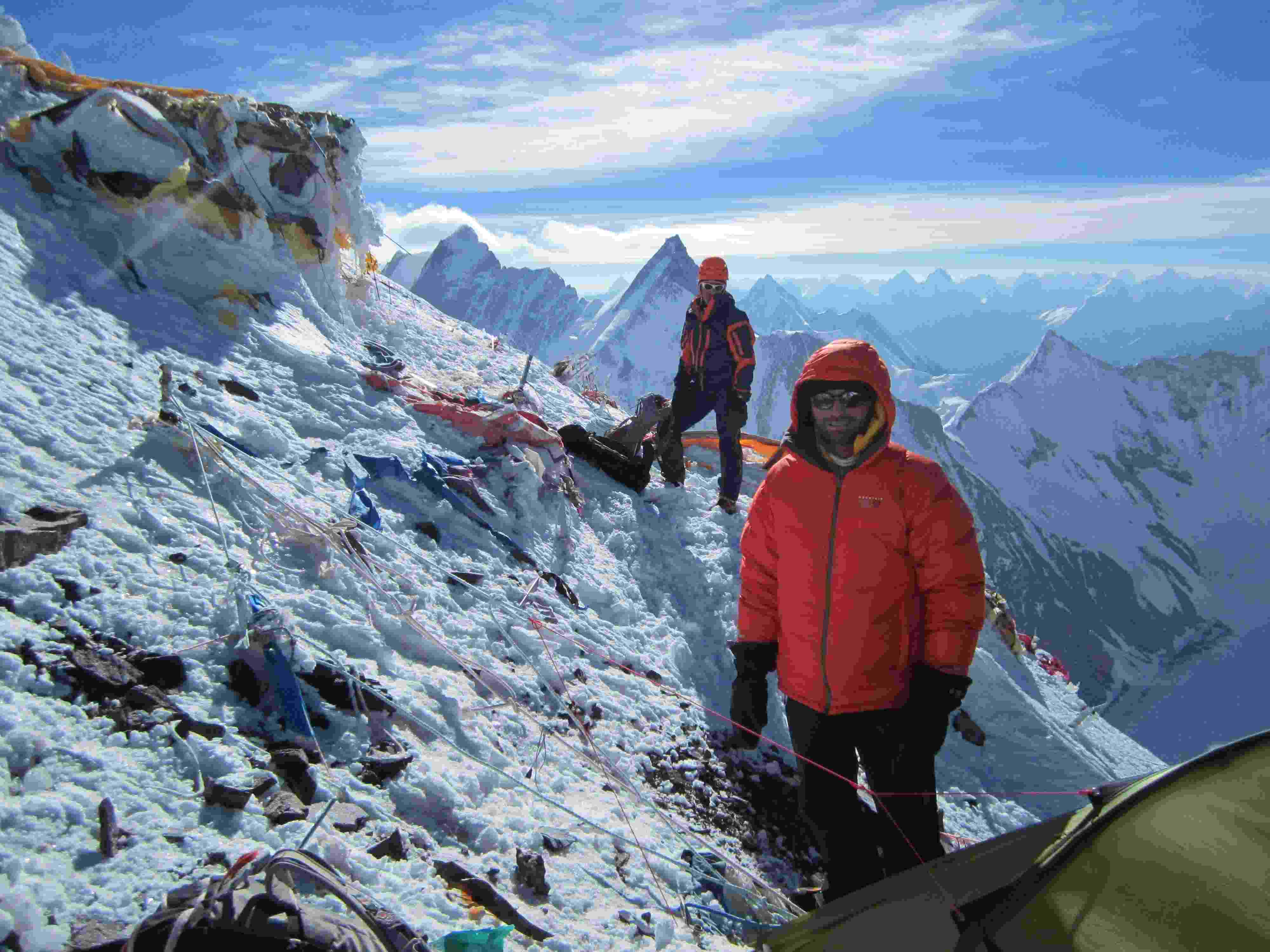 Mike Horn in the Himalaya