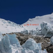 Camp 2 on Makalu