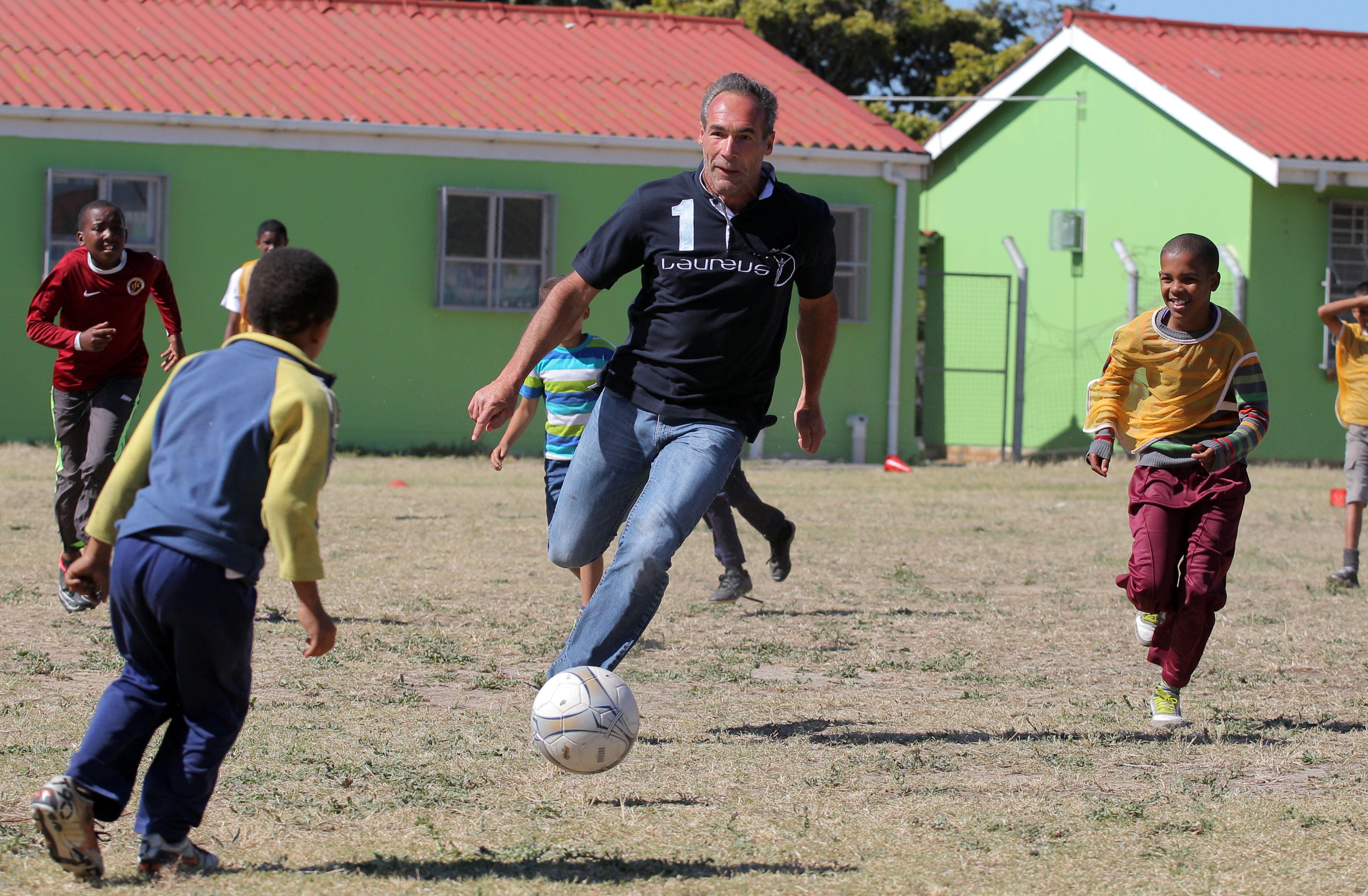 Laureus project in Cape Town Primary School