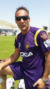 Mike coaches the Kolkata Knight Riders