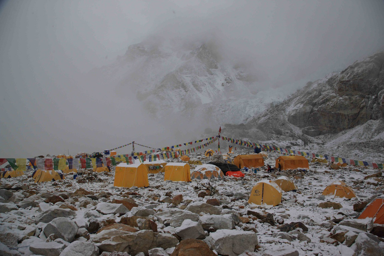 Advanced base camp