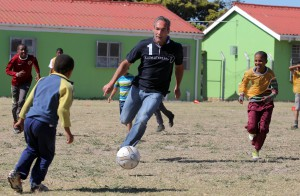 Laureus project in Cape Town Primary School