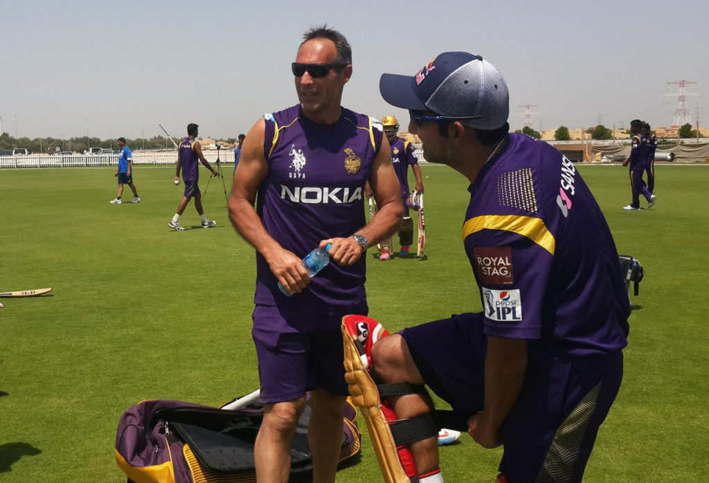 Mike Horn Coaching Sport Cricket