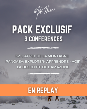 Pack mike horn conférences